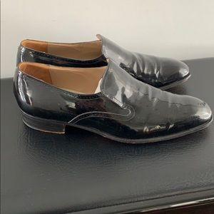Johnston and Murphy black tuxedo shoes size 10/5